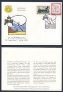 Austria Österreich 1991 Cover / Brief / Lettre - 26. Sonnenzug - Ferien Behinderten, Ungarn / Holidays Disabled, Hungary - Treinen