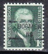 USA Precancel Vorausentwertung Preo, Locals North Carolina, Boomer 835,5 - Vereinigte Staaten