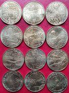Lot De 12 Médailles Pour Compléter Votre Collection Ou Pour Avoir Des Doubles Pour Vos échanges... - Monnaie De Paris