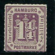 6661 - HAMBURG - Mi.Nr. 20a, Postfrisch  /  Mnh - Hambourg