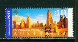 AUSTRALIA  -  2000  Landscapes  $3  International Post  Sheet Stamp  Used As Scan - 2000-09 Elizabeth II