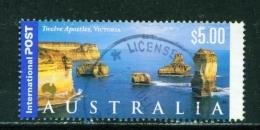 AUSTRALIA  -  2000  Landscapes  $5  International Post  Sheet Stamp  Used As Scan - 2000-09 Elizabeth II