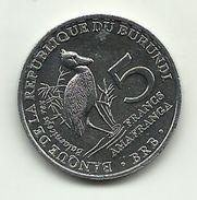 2014 - Burundi 5 Francs - Burundi