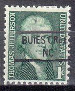 USA Precancel Vorausentwertung Preo, Locals North Carolina, Buies Creek 841 - Vereinigte Staaten