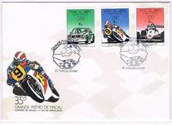 Macau, 1988, FDc 35º Grande Prémio De Macau - FDC
