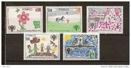 MONACO - N° 1181 à 1185 - Année Internationale De L'enfant - Monaco