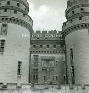 PIERREFONDS Château Vers 1960 OISE 60 - GRANDE PHOTO - Lieux