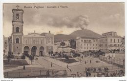 Resìna,  Basilica Of Santa Maria A Pugliano Old Postcard Travelled B180103 - Ercolano