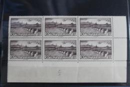 1939      LYON  PONT  DE  LA   GUILLOTIERE     BLOC  DE  6      FRAICHEUR  POSTALE - France