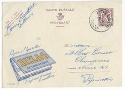 BELGIQUE - 1950 - CARTE ENTIER PUBLIBEL 918 De POLLEUR => PEPINSTER - Enteros Postales