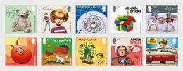 Groot-Brittannië / Great Britain - Postfris / MNH - Complete Set Klassiek Speelgoed 2017 - 1952-.... (Elizabeth II)