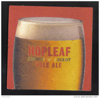 MALTA - FARSONS  HOPELEAF PALE ALE  MATT - - Beer Mats