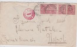 ITALIE 1918 LETTRE EXPRES DE VERONA  CENSUREE - Marcophilia