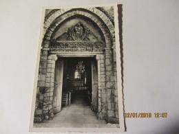 Photocarte  BELLENAVES (03) L'église -le Porche - Frankreich