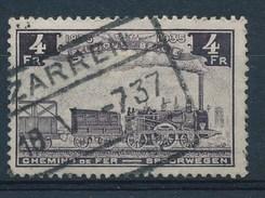 "BELGIE - TR 190 - Cachet  ""ZARREN"" - (ref. 18.437) - Ferrocarril"