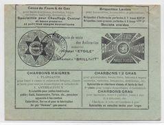 BELGIQUE - 1906 - ENVELOPPE PUB DECOREE (VOIR DOS) De LODELINSART JUMET => UECKINGEN (MOSELLE) - 1905 Grosse Barbe