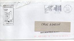 2000--Flamme  P.P   LEZAY -79--Marché Européen  --  Musée Archéologique De ROM-79 - Postmark Collection (Covers)