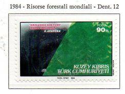 PIA  - CIPRO TURCA  - 1984  : Risorse Forestali Mondiali -  (Yv  135) - Vegetazione