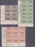 OCB Nr. OC38-39-41-84 - Met DEPOT Stempels - Guerre 14-18