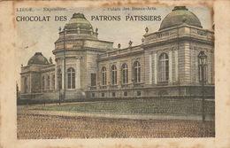Liège Exposition Palais Des Beaux Arts Chocolat Des Patrons Patissiers - Liège