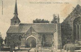 Environs De SAINT NICOLAS DU PELEM - Sainte Tréphine, L'église. - Saint-Nicolas-du-Pélem