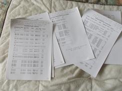 Copie De Lots De Documents En Rapport Avec Le Cirque Pinder - Old Paper