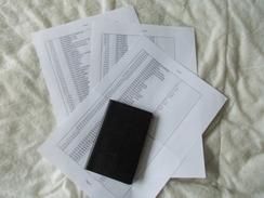 Copie De Lots De Documents En Rapport Avec Le Cirque Pinder Tournée 1984 - Old Paper