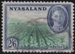 Nyasaland   .      SG        .      154       .         O       .          Gebruikt   .    /    .   Cancelled - Nyassaland (1907-1953)