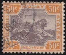Malaya    .      SG   .    22a    .         O       .          Gebruikt   .    /    .   Cancelled - Federated Malay States