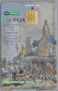 NL.- Telefoonkaart.- Nederland. KPN Telecom. 10 Gulden, € 4,54. Ruïnekerk. Bergen. Buiten, Alles Geplunderd. Franse Tijd - Netherlands