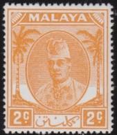 Malaya     .      SG   .      62b       .   *     .     Ongebruikt   .    /    .  Mint-hinged - Federated Malay States