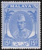 Malaya     .      SG   .      71       .   *     .     Ongebruikt   .    /    .  Mint-hinged - Federated Malay States