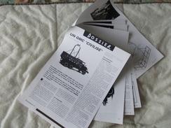 Copie De Lots De Documents En Rapport Avec Le Cirque Pinder GMC - Old Paper