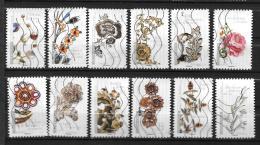 2017 - 128 -   Oblitéré  - Fleurs Et Métiers D'Art - Adhesive Stamps