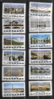 2017 - 134 -   Oblitéré  - Ponts Et Viaducs - Adhesive Stamps