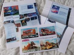 Copie De Lots De Documents En Rapport Avec Le Cirque Pinder Chars - Old Paper