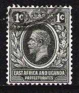 East Africa & Uganda Protectorates 1912 - From Set Used - Kenya, Uganda & Tanganyika