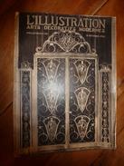 1925 L'ILLUSTRATION :  MAROC (Djebel Nador,Kifane,Djebel Selloum,Tizi-Ouzli,Syah,Meknès,etc); ARTS DÉCORATIFS (++++) - Journaux - Quotidiens