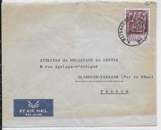 KATANGA (EX CONGO BELGE) - 1962 - ENVELOPPE Par AVION De ELISABETHVILLE => CLERMONT-FERRAND - Katanga