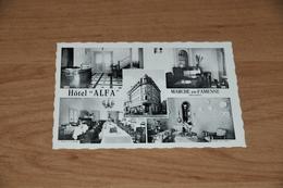 417- Haecht, Hotel Alfa, Marche En-Famenne, Bar-Café-Restaurant-Pension - Autres