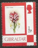 Gibraltar  - 1982 Orchids (1982 Imprint) MNH **  SG 374a - Gibraltar