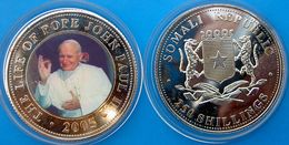 SOMALI REPUBLIC 250 SHILLINGS 2005 THE LIFE OF POPE JOHN PAUL II (3) - Somalie