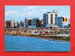 Cartolina Igea Marina - Particolare Della Spiaggia - 1975 Ca. - Rimini