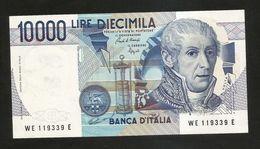 ITALIA - BANCA D' ITALIA - 10000 Lire Alessandro Volta (Firme: Ciampi / Speziali) - REPUBBLICA ITALIANA - [ 2] 1946-… : Républic