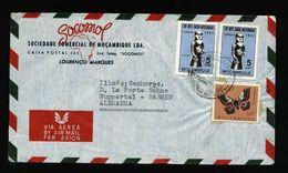 A5074) Portug. Mosambik Brief Lourenco Marques 1951 Nach Germany - Mozambique
