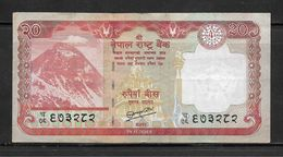 Nepal Rupees Twenty Banknote, Very Fine Condition - Nepal