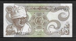 SUDAN Extremely Hard 1981 - 25 Piastres Note - Extra Fine As Per Condition. Hard & Rare !!!! - Sudan
