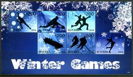 GUYANA 2014** - Winter Olympic Games In Sochi - Block Di 6 Val. MNH Come Da Scansione - Inverno 2014: Sotchi