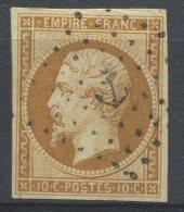 N°13A  Oblitération Ancre,  TB - 1853-1860 Napoleone III
