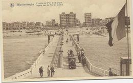 CPA - Belgique - Blankenberge  L'entrée  Du Pier Et La Digue. - Blankenberge